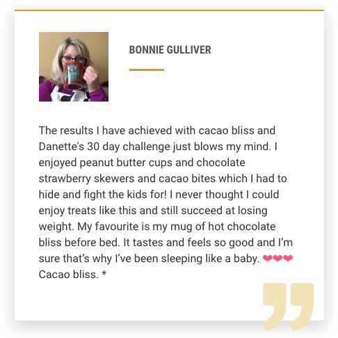 Cacao Bliss Testimonials