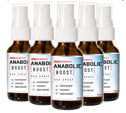 Anabolic Boost Spray Reviews