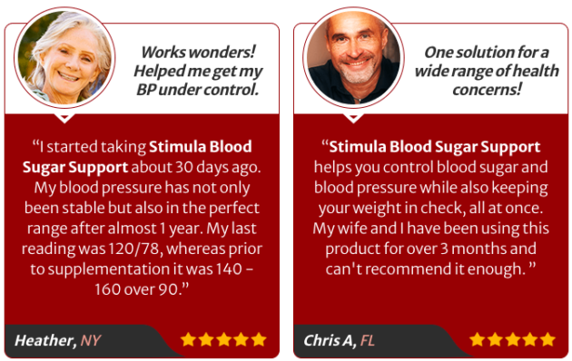 Stimula Blood Sugar Support Pills Reviews