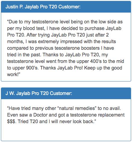 Jaylab Pro T20 Testimonials