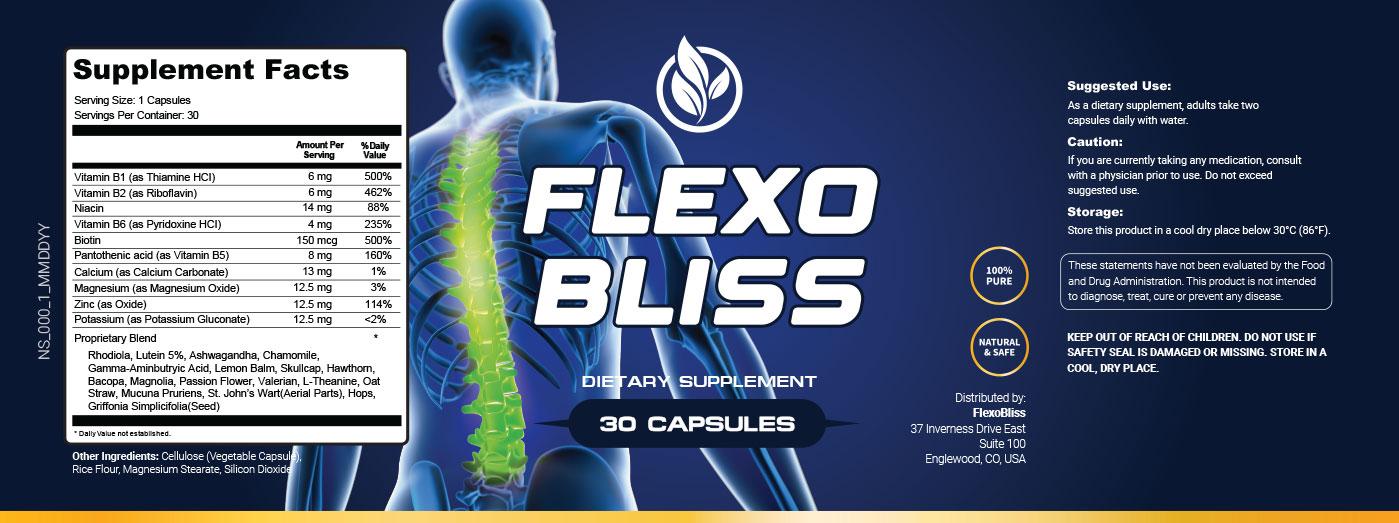 FlexoBliss Ingredients