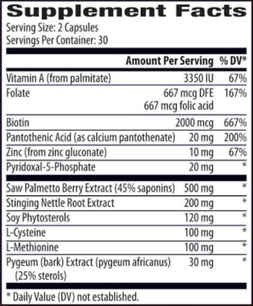 Hair ReVital X Ingredients