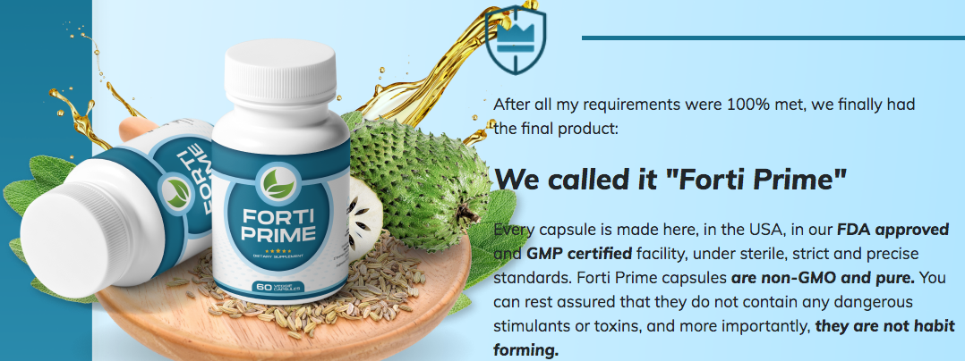 Forti Prime Supplement Reviews